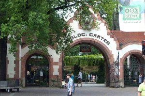 Zoo Leipzig Eingang