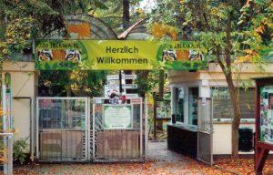 Zoo Eberswalde Eingang