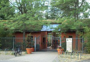 Eingang zum Zoo Braunschweig